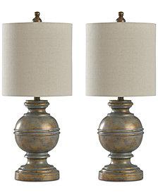 StyleCraft Set of 2 Girona Table Lamps