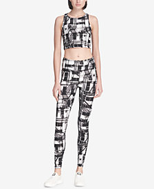 DKNY Sport Escape Printed Leggings, Created for Macy's