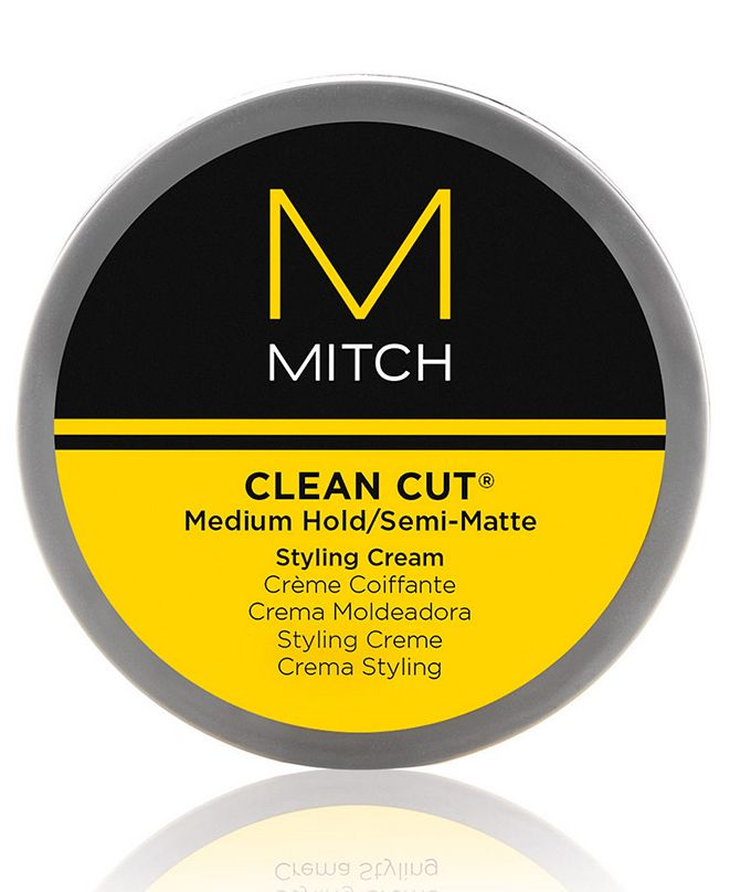 Paul Mitchell Mitch Clean Cut Medium Hold/Semi-Matte Styling Cream, 3-oz., from PUREBEAUTY Salon & Spa