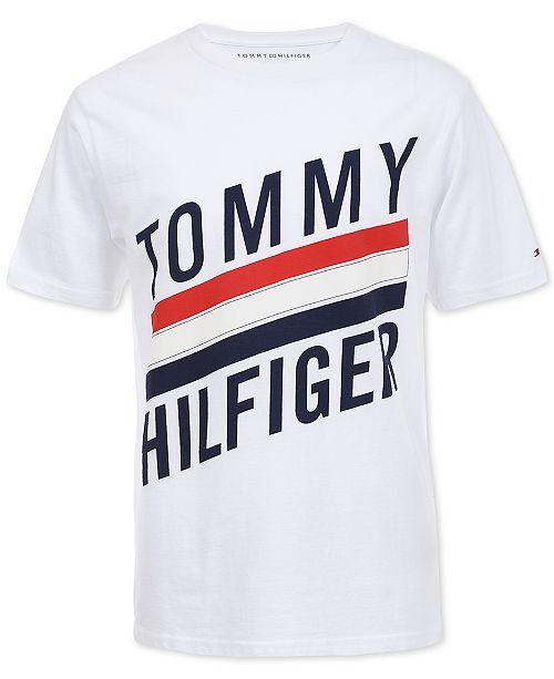 d54c11bf7ba254 Tommy Hilfiger Toddler Boys Carlo Graphic T-Shirt   Reviews - Shirts ...