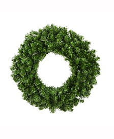 Vickerman 20 inch Douglas Fir Artificial Christmas Wreath Unlit