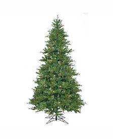 Vickerman 9 ft Mixed Country Pine Slim Artificial Christmas Tree Unlit