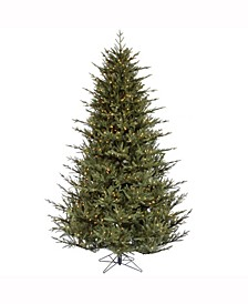 4.5 ft Itasca Frasier Artificial Christmas Tree With 250 Clear Lights