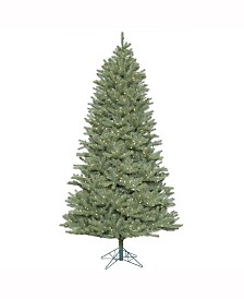 Vickerman 7.5 ft Colorado Spruce Slim Artificial Christmas Tree With 800 Warm White Led Lights
