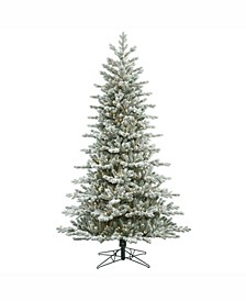 7.5' Frosted Eastern Frasier Fir Artificial Christmas Tree