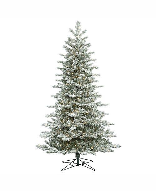 Frasier Fir Christmas Tree.7 5 Frosted Eastern Frasier Fir Artificial Christmas Tree