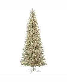 Vickerman 3.5' Platinum Fir Artificial Christmas Tree