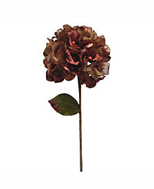 "Vickerman 29"" Chocolate Velvet Hydrangea Artificial Christmas Pick"