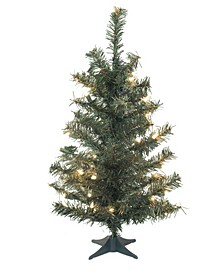 36 inch Canadian Pine Artificial Christmas Tree