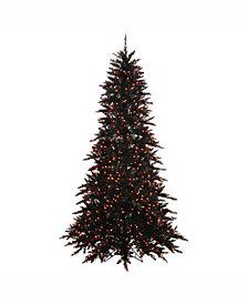 Vickerman 3' Black Fir Slim Artificial Christmas Tree