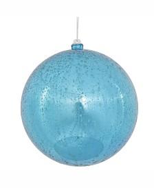 "Vickerman 12"" Turquoise Shiny Mercury Ball Ornament."