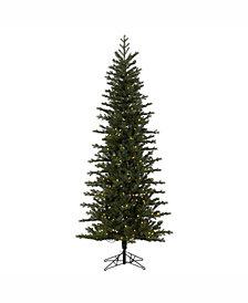 "Vickerman 7.5' X 38"" Hillside Pencil Spruce Artificial Christmas Tree"