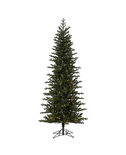 Pencil Christmas Tree.7 5 X 38 Hillside Pencil Spruce Artificial Christmas Tree