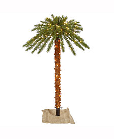 Vickerman 4' Outdoor Palm Artificial Tree