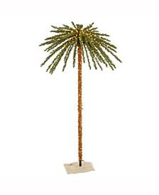 Vickerman 7' Outdoor Palm Artificial Tree