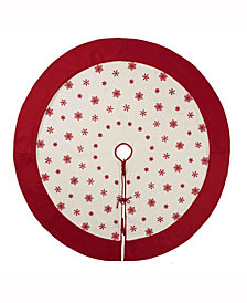 Vickerman Decorative Tree Skirt Features Fun And Festive Felt