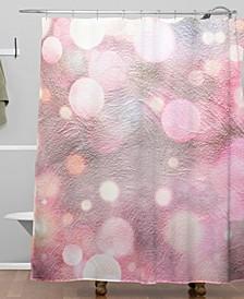 Iveta Abolina Pearl Cream Shower Curtain