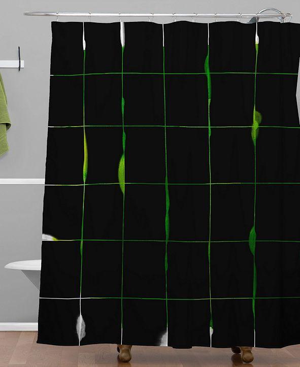 Deny Designs Iveta Abolina Lime Juice Shower Curtain