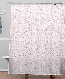 Iveta Abolina Pink Mist Shower Curtain