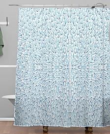 Iveta Abolina Cornflower Field Shower Curtain