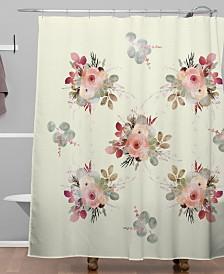 Deny Designs Iveta Abolina Rose Tan Shower Curtain