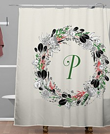 Iveta Abolina Silver Dove Christmas P Shower Curtain