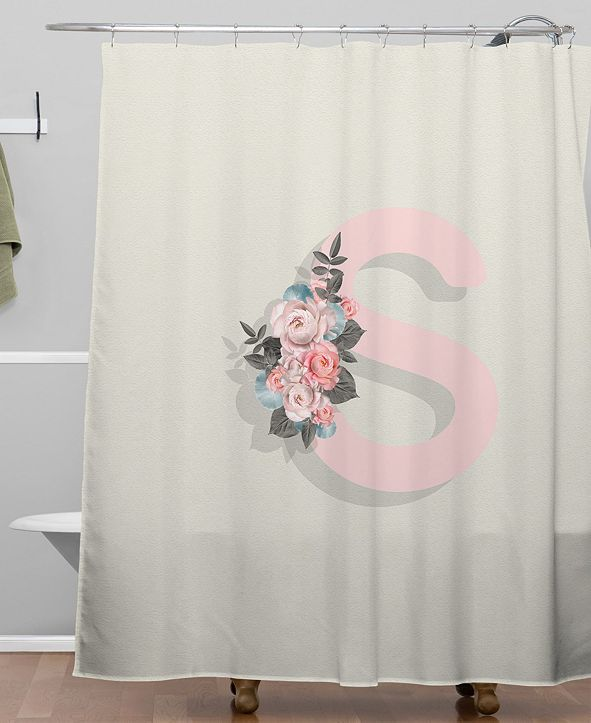 Deny Designs Iveta Abolina Pivoine S Shower Curtain