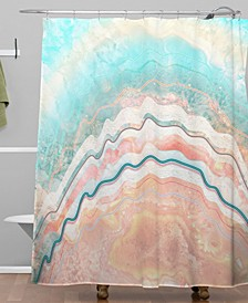 Iveta Abolina Spring Oyster Shower Curtain