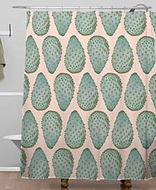 Iveta Abolina Copper Spike II Shower Curtain