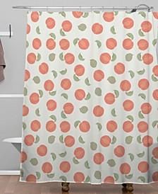 Iveta Abolina Marielle Mauve Shower Curtain