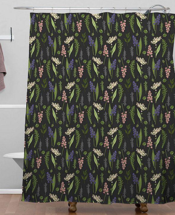 Deny Designs Iveta Abolina Pierrette Shower Curtain