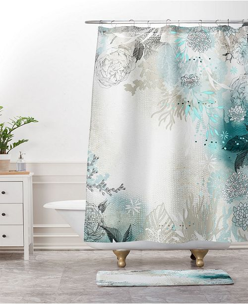 Deny Designs Iveta Abolina Pattern of Flamingo Bath Mat