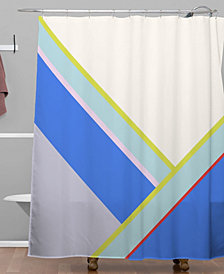 Deny Designs Iveta Abolina Aida Peach Shower Curtain