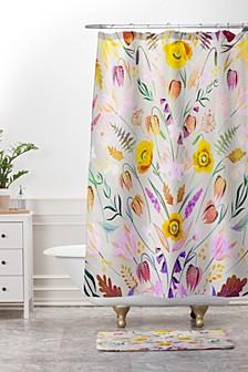 Iveta Abolina Ethel Garden Bath Mat