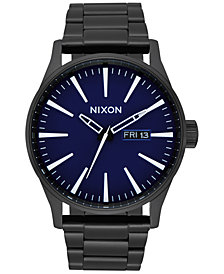 Nixon Men's Sentry Stainless Steel Bracelet Watch 42mm