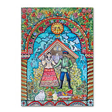 Oxana Ziaka 'Russian Folk' Canvas Art Collection
