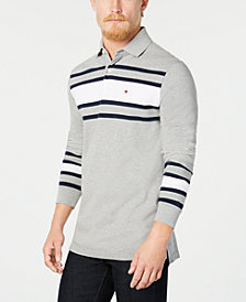 Tommy Hilfiger Men's Lewiston Striped Polo, Created for Macy's