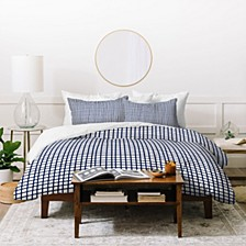 Holli Zollinger Cross Lines Twin Duvet Set