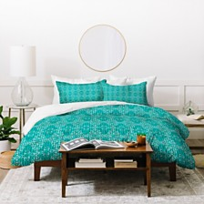 Deny Designs Holli Zollinger Kantha Tribal Twin Duvet Set