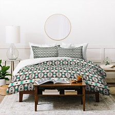 Deny Designs Holli Zollinger Marais Tribal Twin Duvet Set
