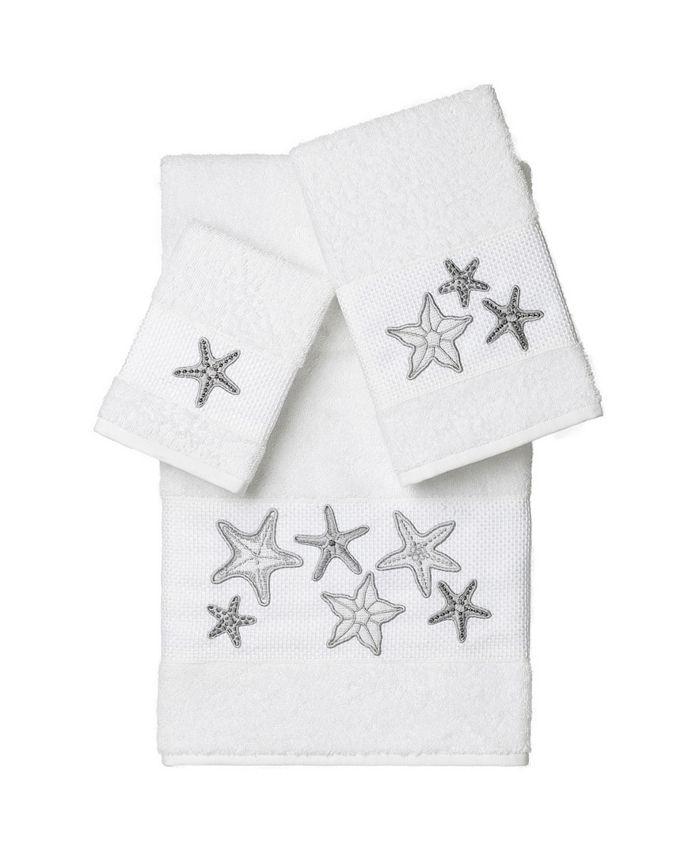 Linum Home - Lydia 3PC Embellished Towel Set