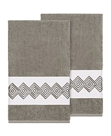 Noah 2-Pc. Embellished Bath Towel Set