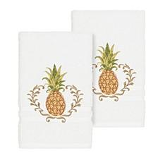 Welcome 2-Pc. Embellished Hand Towel Set