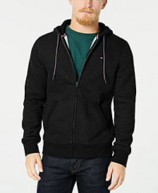 Tommy Hilfiger Men's Plains Drawstring Hoodie