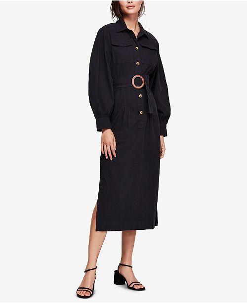 249069bb21d1c Free People Cotton Audrey Belted Dress & Reviews - Dresses ...