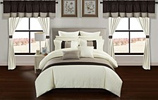 Vixen 24-Pc Queen Comforter Set