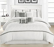 Chic Home Vermont 12-Pc King Comforter Set