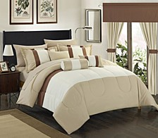 Mackenzie 20-Pc Queen Comforter Set