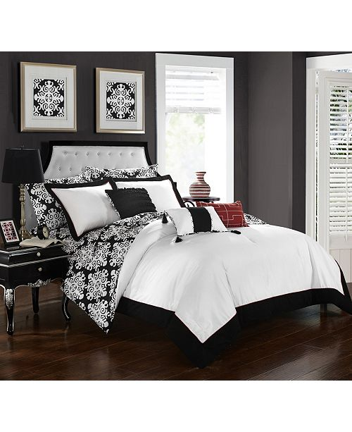 Chic Home Tania 8-Pc Twin Comforter Set