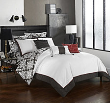 Chic Home Tania 10-Pc Queen Comforter Set